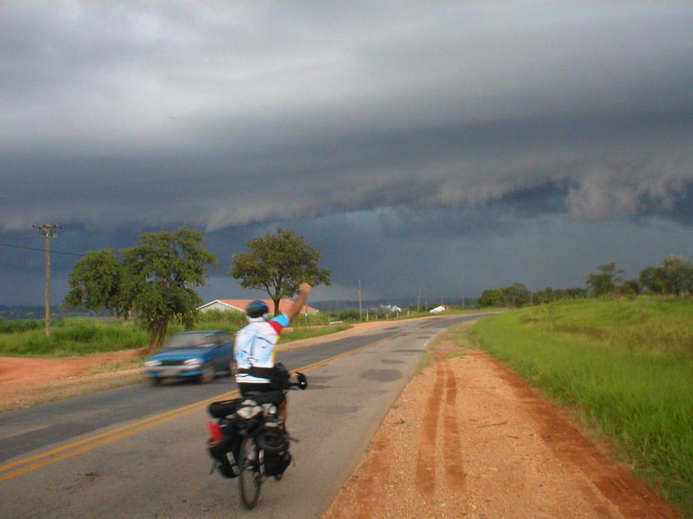 Cicloviagem pelo Rio Tietê em 2004